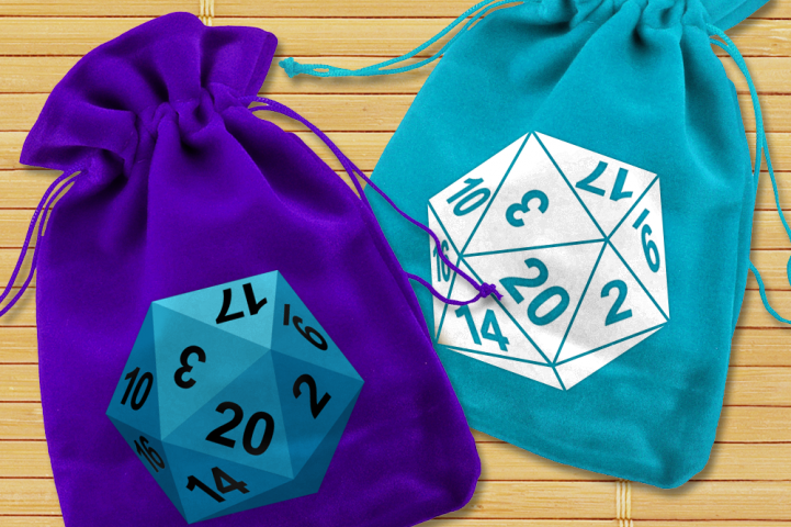 20 Sided Dice SVG File Cutting Template