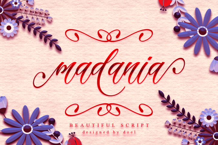 Madania Beautiful Script