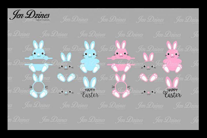 Bunny Bundle SVG DXF EPS PNG