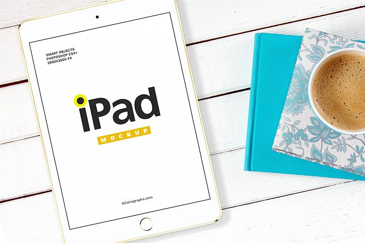 iPads Mockups Vol.2 example 1