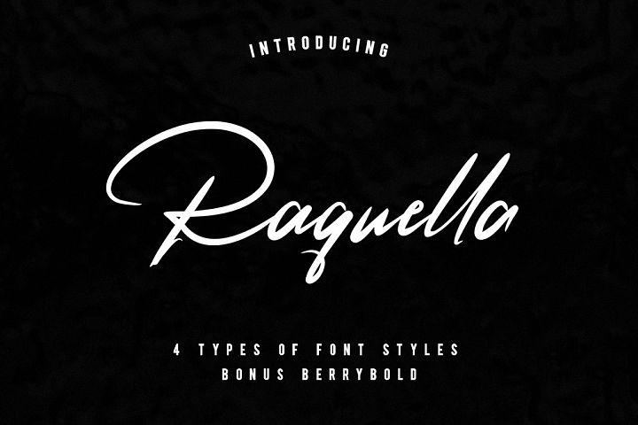 Raquella 4 Font