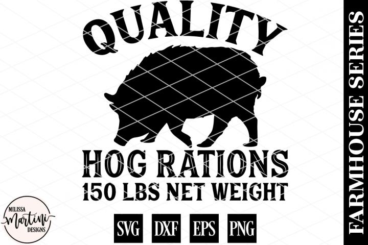Quality Hog Rations