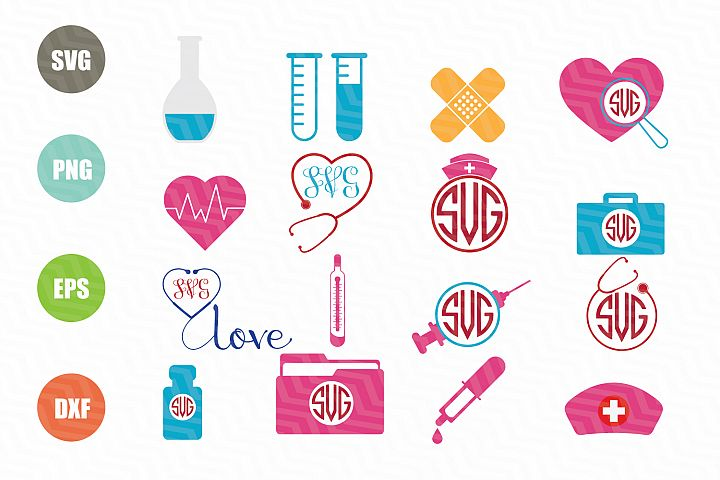 Nurse SVG Bundle