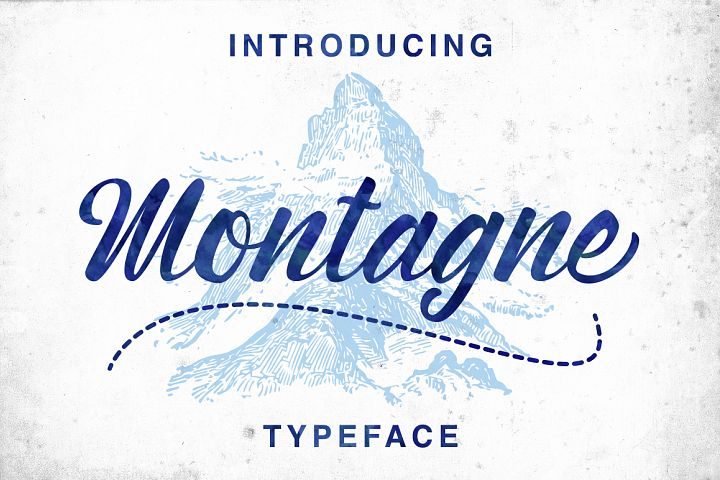 Montagne Typeface - Free Font of The Week