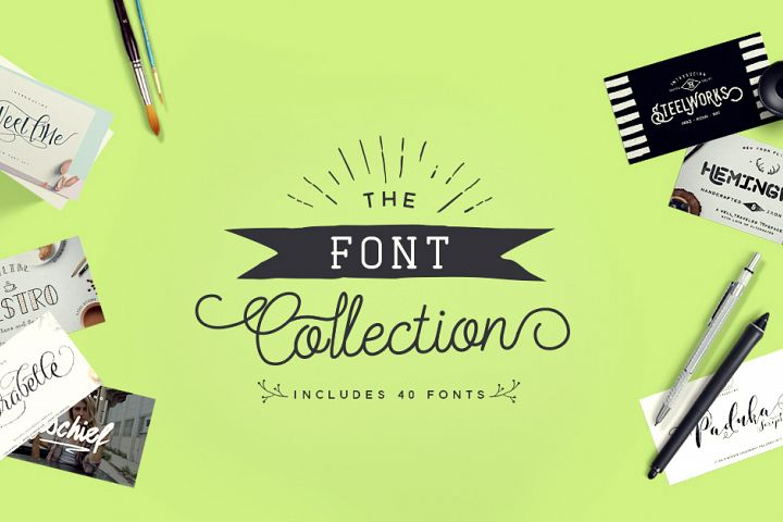 The Font Collection