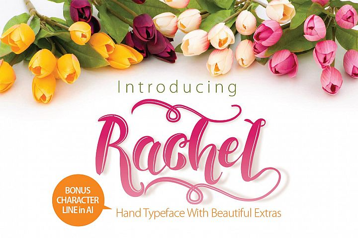 RACHEL  - Free Font of The Week