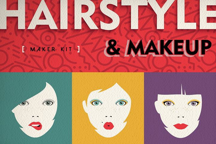 Hairstyle & Makeup Maker Kit + Extras