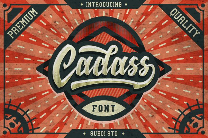 Cadass Font Duo 70% OFF
