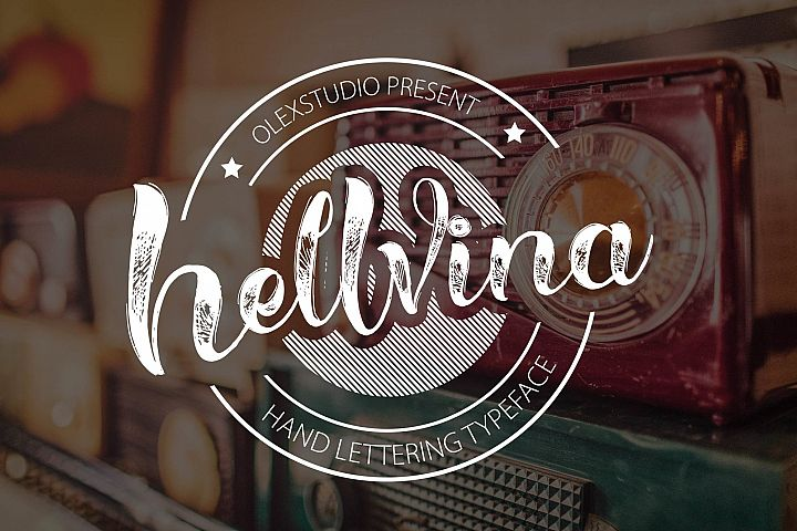 HELLVINA SCRIPT - Free Font of The Week