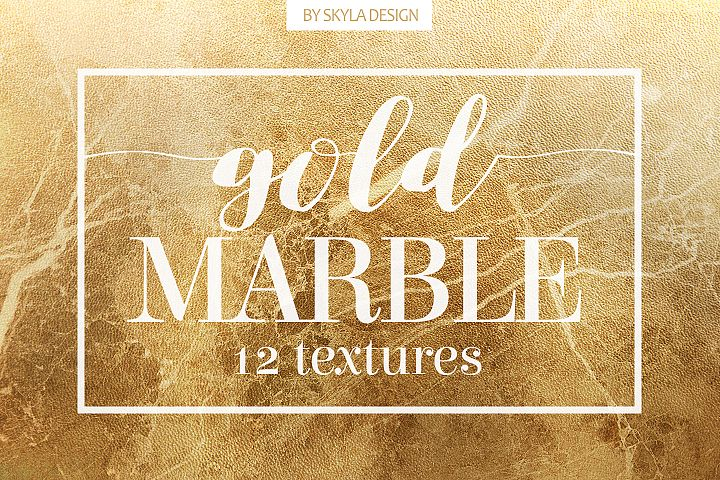 Gold marble texture background