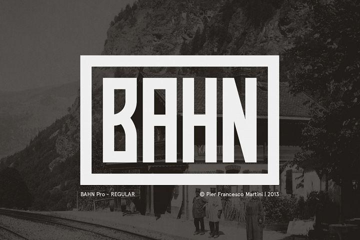 BAHN Pro Regular