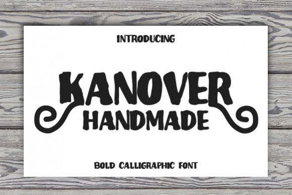 Kanover - Free Font of The Week