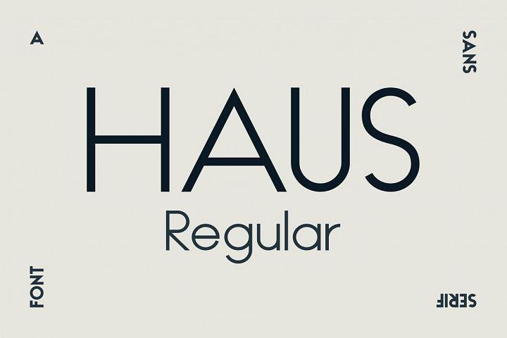 HAUS Sans Regular
