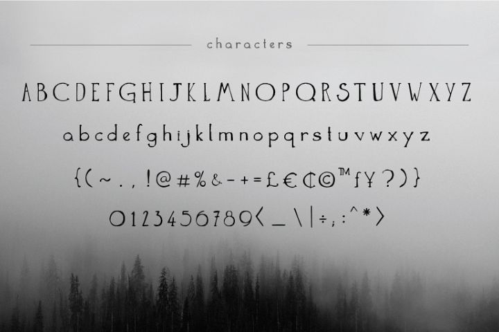 The Anomali - Free Font of The Week Design 1
