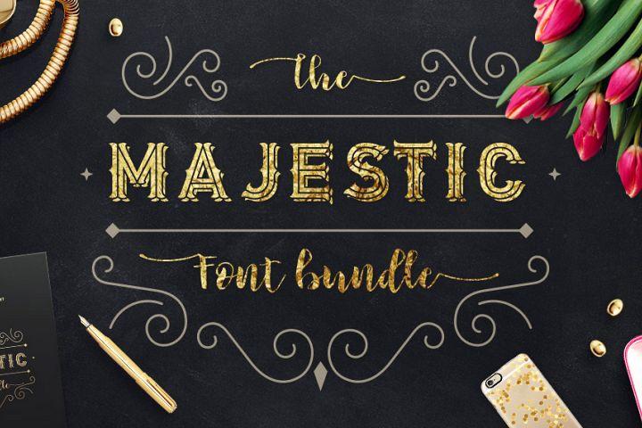 Majestic Font Bundle