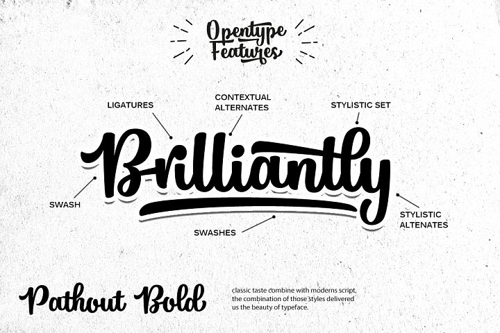 Pathout Script - Free Font of The Week Design 2