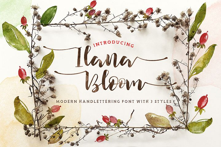 Ilana Bloom - Free Font of The Week
