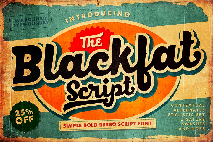 Blackfat Script - Free Font of The Week