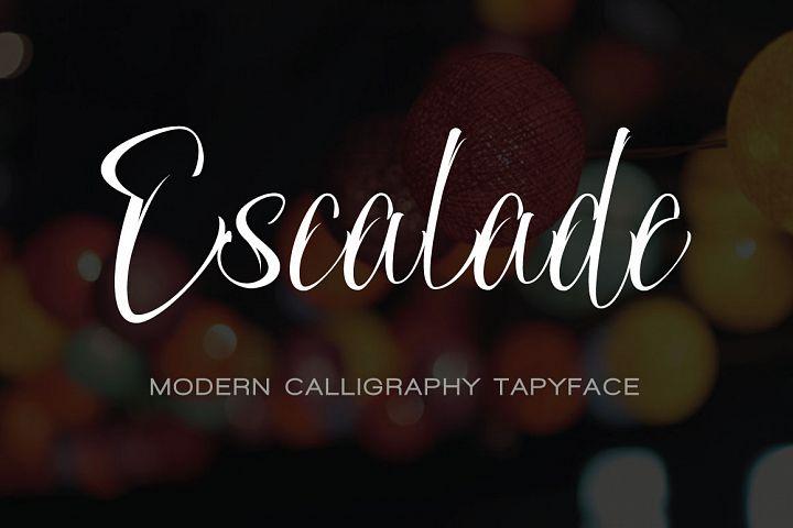 ESCALADE modern calligraphy