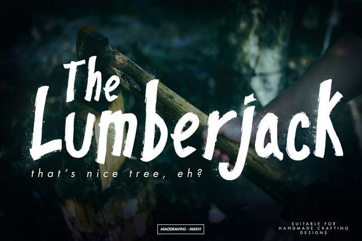 Pinebrick Typeface - Free Font of The Week Design 2
