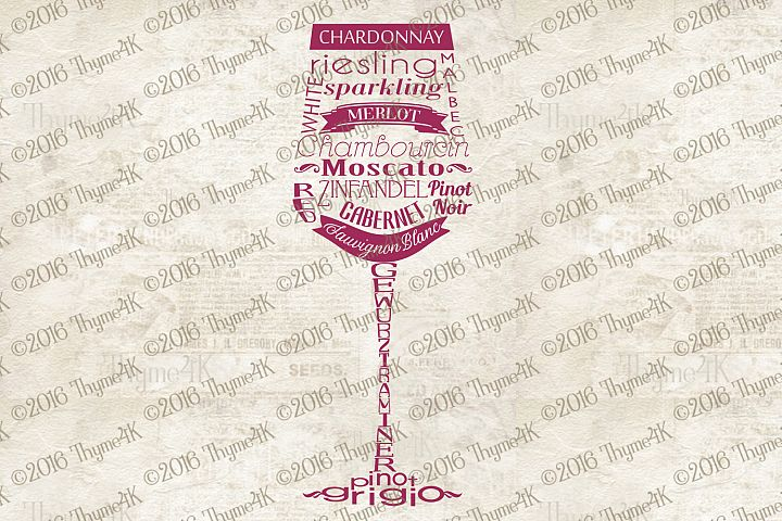 Wine Words digital design