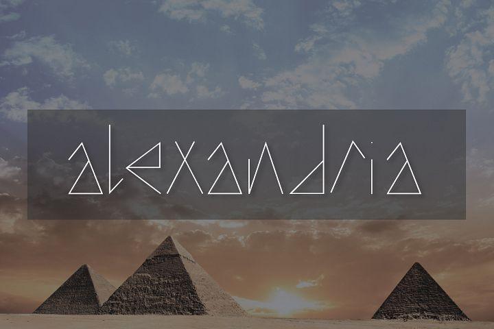 Alexandria Typeface