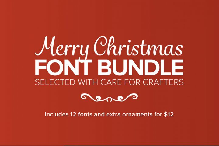 The Merry Christmas Font Bundle