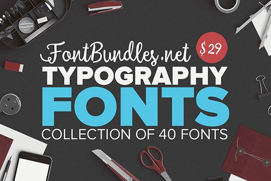 The Typography Fonts Bundle