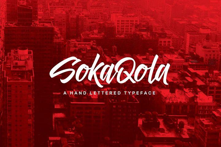 SokaQola Typeface