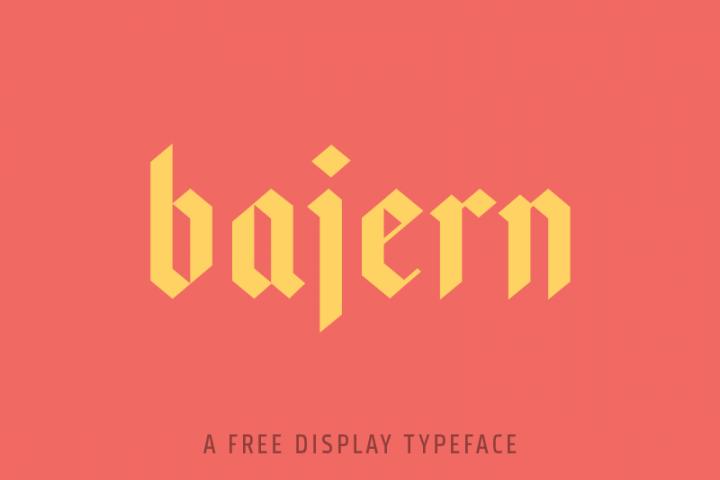 Bajern Typeface