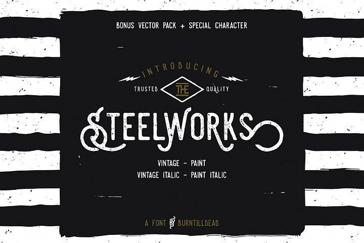 Steelworks + Bonus (20% OFF)