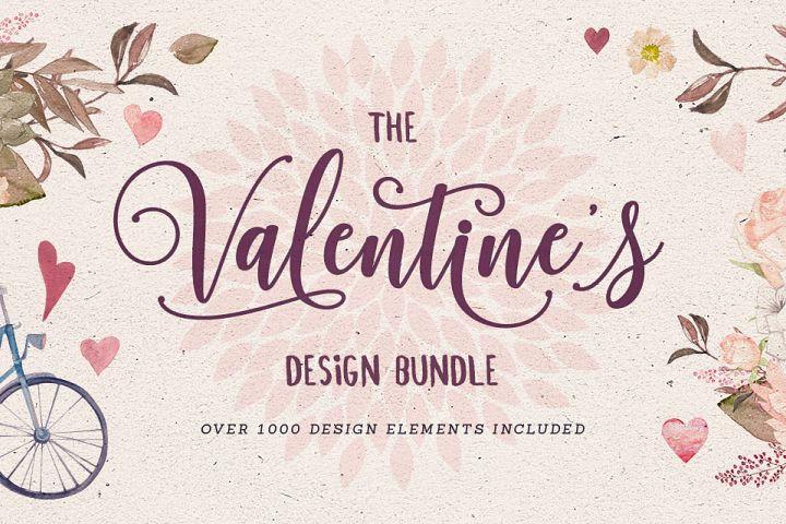 Valentines Design Bundle