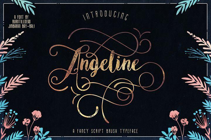 Angeline Font + SWASHES