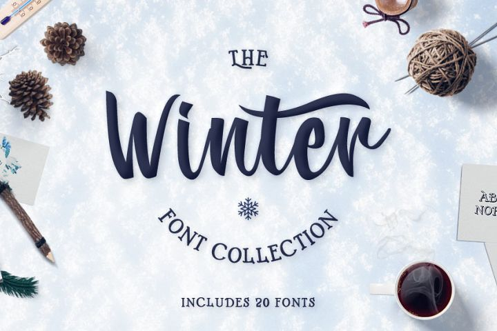 Winter Fonts Collection