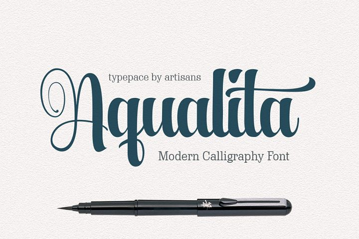 Aqualita - Free Font of The Week